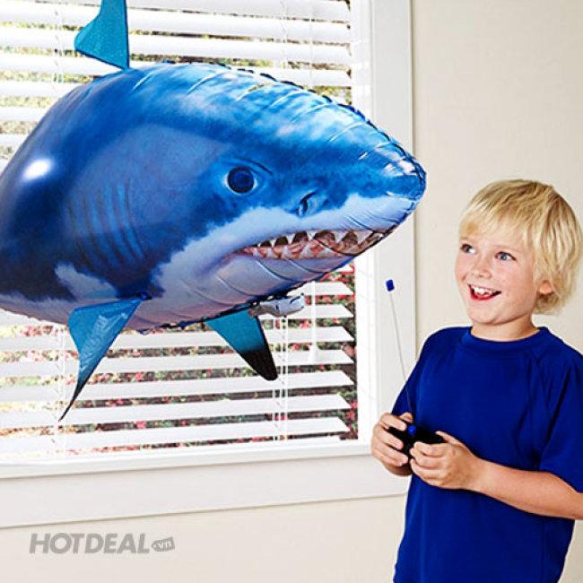 bơm cá bay   khí helium bơm cá bay