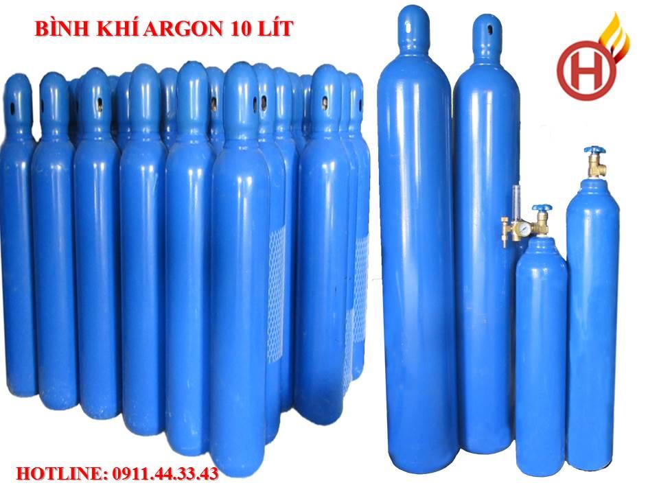bình khí argon hàn inox mini | bình khí hàn tig nhỏ