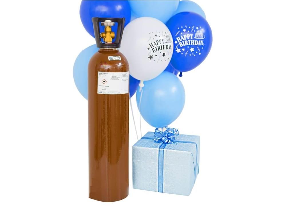 đổi khí helium nhỏ 10 lít | bán khí bơm bóng bay giá rẻ