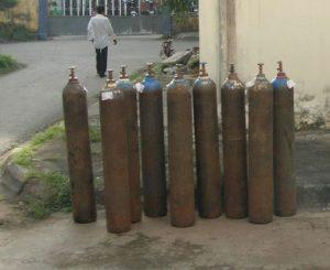 mua bán vỏ chai khí bình khí cũ | bán bình khí đã qua sử dụng